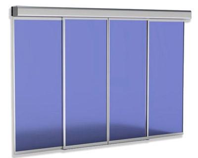 Puertas automáticas vidrio peatonal