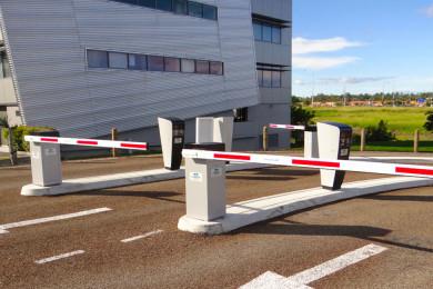 Barreras de paso de vehículos