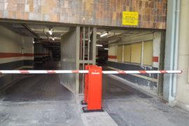 Instalación de barreras en parking