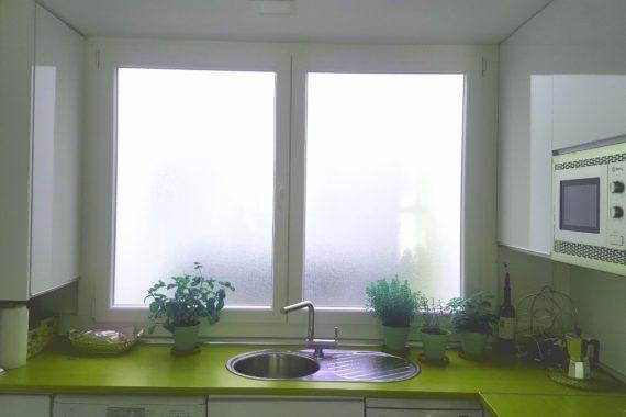 Cerramiento de cocina, ventana PVC en Leganés