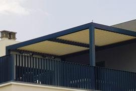 Instalación de pérgola bioclimática en Los Ángeles de San Rafael